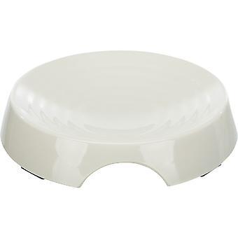 Trixie Trough Melamine White (Cats , Bowls, Dispensers & Containers , Bowls)