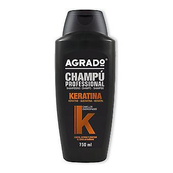 Moisturizing Shampoo Agrado Keratina (750 ml)