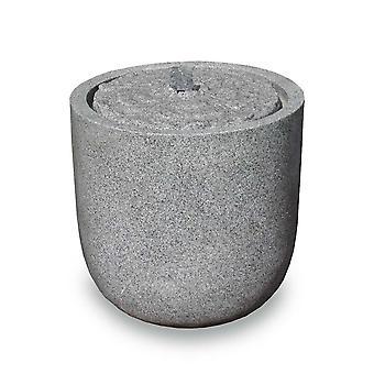 Havefontæne Terrassefontæne FoVat sandsten 37x35 cm Led 10881