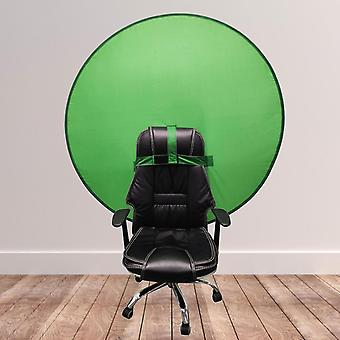 142cm Green Screen Photo Background Photography Backdrops Portable Solid Green Color Backdrop Cloth