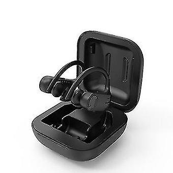 Wireless bluetooth 5.0 Ear Hook Headphones Waterproof CVC8.0 Noise Cancelling