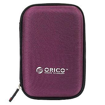Bærbar ekstern harddiskbeskyttelsespose, beskyttelse med to bufferlag