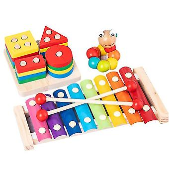 Early Childhood Education Musical Toys 3pcs, Musik Klavier