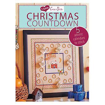 Jeg elsker korssting jul Nedtælling 5 Advent kalendere til at sy ved bidrag af forskellige