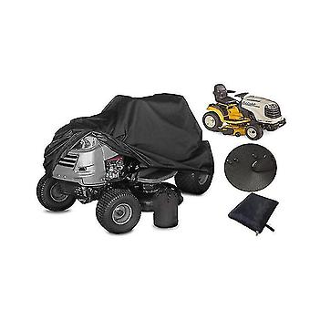 Oxford Cloth Black Lawn Mower Cover Lawn Mower Waterproof Dust Cover Polyester Sunscreen Car