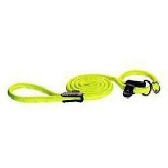 Rogz Yellow Nylon Reflective Collar and Strap