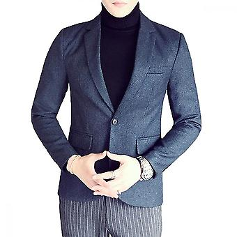 Giacca yunyun uomo plaid one button business casual suit