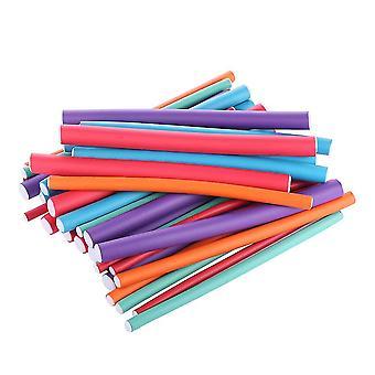 36 stuks Curler Makers Spongia Foam Twist Krullen Diy Styling Hair Rollers Flexibele Curling