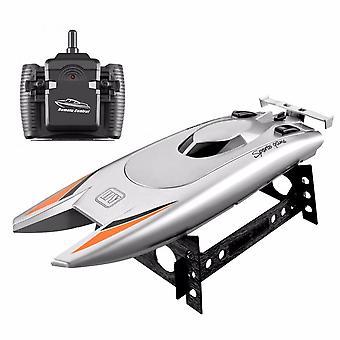 Rc قوارب للأطفال الكبار 25km / ساعة عالية السرعة سباق قارب 2 قنوات التحكم عن بعد