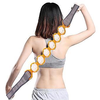Körper Massage Roller Neck Massager Handheld Back Puller Strip Typ Massager Rolling Balls Band