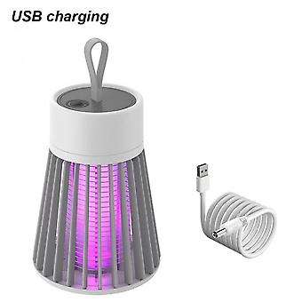 Usb Pest Control Lamp Led Insect Light Mosquito Killer Lamp Chambre Flying Bug Luring Purple Mosquito Trap Repellent Mute Indoor