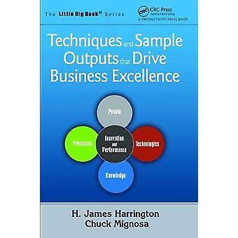 Técnicas y resultados de muestra que impulsan la excelencia empresarial
