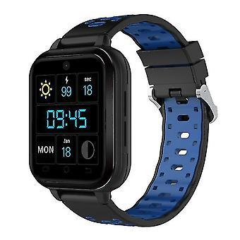 Ceasuri pentru copii smart watch wifi camera 4G gps telefon Android cu bluetoothwatch-uri cartela SIM negru
