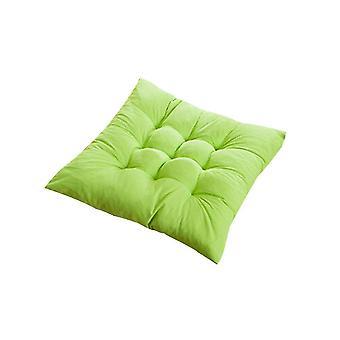 Quadratischer Stuhl weiches Sitzkissen für Home Office Indoor Outdoor Garten (Fruit Green)