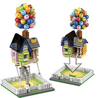 Technische ideeën tensegrity bouwstenen opgeschort ballon huis force balance bouwstenen montage speelgoed voor kinderen