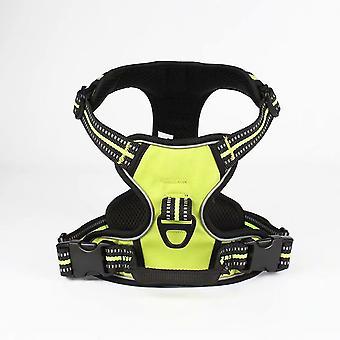Kleine en middelgrote hond explosieveilige veiligheidslijn voor huisdieren (groen Xxl)