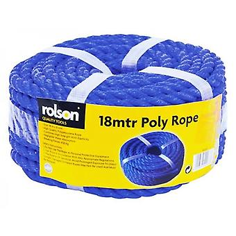 Rolson kwaliteit 18mtr Poly Multi Purpose touw