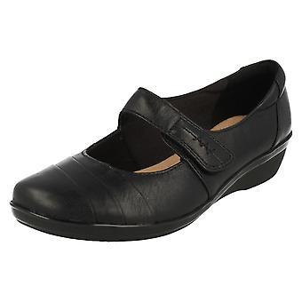 女士 克拉克 斯 垫 软 智能 鞋 埃弗莱 肯农