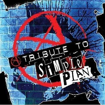 Tribute to a Simple Plan - Tribute to a Simple Plan [CD] USA import