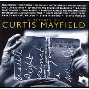 Tributo a Curtis Mayfield - Tribute to Curtis Mayfield [CD] EUA importar