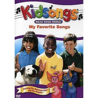 Kidsongs - My Favorite Songs [DVD] USA import