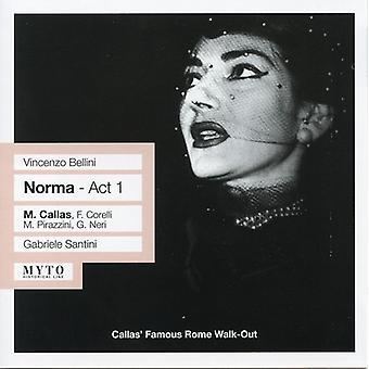 Callas/Santini - Vincenzo Bellini: Norma - Act 1 [CD] USA import