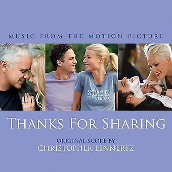 Christopher Lennertz - Thanks for Sharing [Score] [CD] USA import