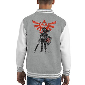 Héros traditionnel de temps Legend Of Varsity Jacket de Zelda Kid