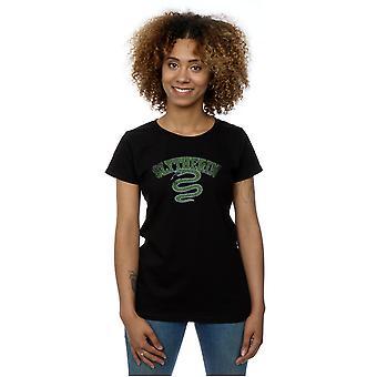 هاري القميص بوتر المرأة شعار الرياضة سليذرين