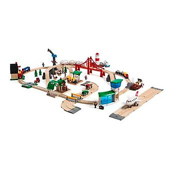 BRIO Railway World Deluxe Set 33766 Largest Set - Great Value