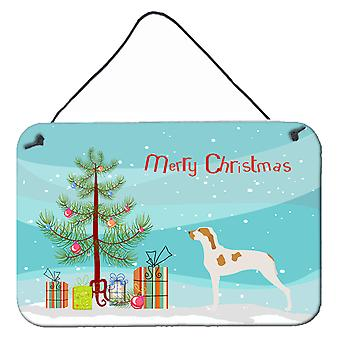 Ariege Pointer Christmas Wall or Door Hanging Prints