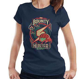 Samus le chasseur de primes retourne T-Shirt des femmes