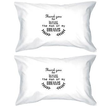 私の男ユニークな綿枕カバー クイーン サイズかわいいを上げる