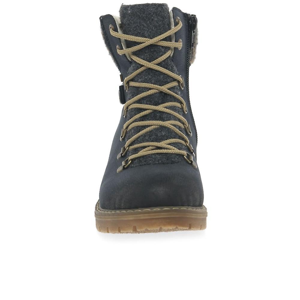 Odzież na co dzień szczytu Rieker zasznurować buty trekkingowe