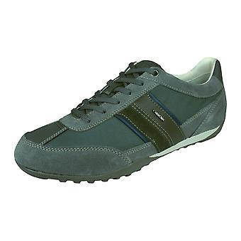Geox U колодцы C Мужская тренеров / обувь - темно-серый