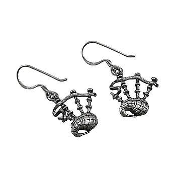 Sterling Silver pendenti cornamusa orecchini