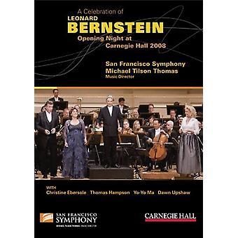 L. Bernstein - Celebration of Leonard Bernstein-Opening Night at [DVD] USA import