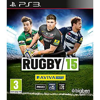 Rugby 15 (PS3) - Novo