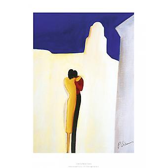 Lovers Poster Print by Patrick Ciranna (12 x 16)
