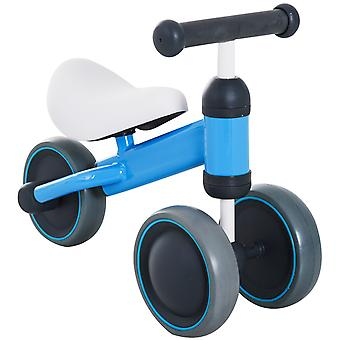 HOMCOM Kids Trike Toddler 3 Wheel Ride-on Bicycle Walker Tricycle Baby Balance Bike Infant Walking Toys Blue