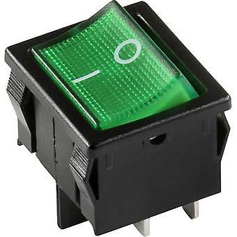interBär Toggle switch 3628-250.22 250 V 10 A 1 x Off/On latch 1 pc(s)
