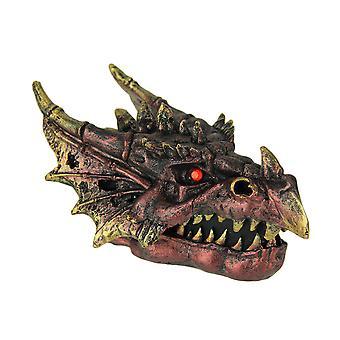 Red Fire Eyed Dragon Head Trinket Box