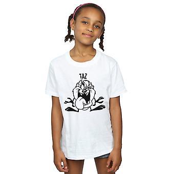 Looney Tunes ragazze Taz testa grande t-shirt