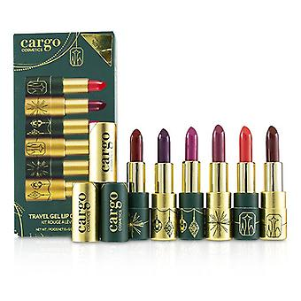 Travel Gel Lip Color Kit - 6x2g/0.07oz