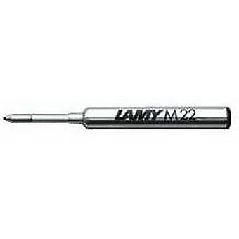 Lamy M 22 feine kompakte Kugelschreiber Refill - blau
