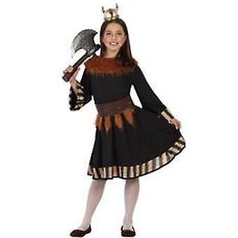 Kinder Kostüme Mädchen Viking Girl