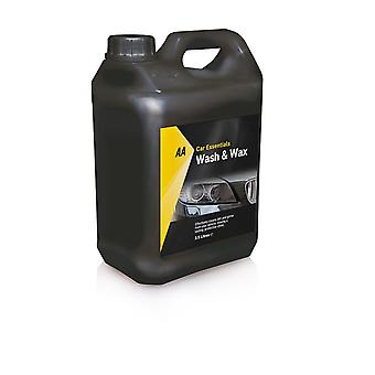 Wax shampoo 2, 5L hoog schuimend door AA auto Essentials
