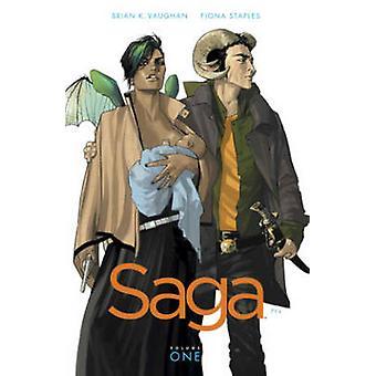Saga - volumen 1 de Brian K. Vaughan - Fiona Staples - Bo 9781607066019