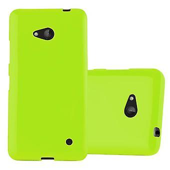 Cadorabo Hülle für Nokia Lumia 640 hülle case cover - Handyhülle aus flexiblem TPU Silikon – Silikonhülle Schutzhülle Ultra Slim Soft Back Cover Case Bumper