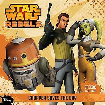 Star Wars rebellerna 8 x 8 #1 (med klistermärken)
